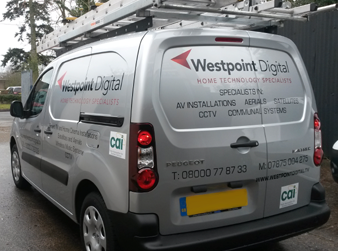 Westpoint Digital Satellite Tv & Aerials installed in the West Midlands