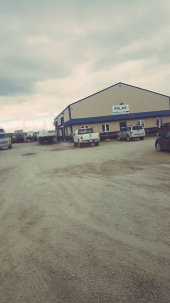 Just in winnipeg canada so we had to visit Polor industries …