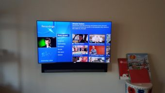 Skyq and sky mini boxes completely hidden- no cables #livein…