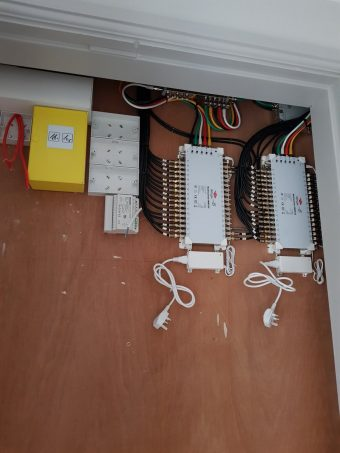 Not much room to play with. Waiting for the electrics and ea…