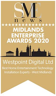 Westpoint Digital Midlands enterprise awards 2020 winners