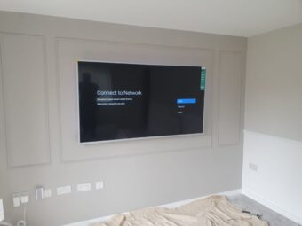 70″ TV install https://t.co/owjt0A0vRt